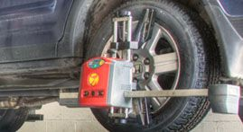 4 Wheel Laser Alignment image